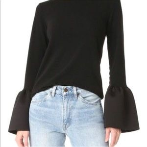 Celine style bell sleeve top! Style mafia Locka!
